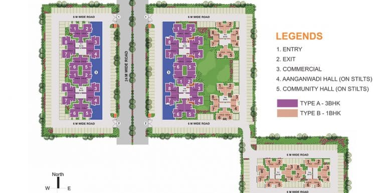 Auric-City-Homes-Site-plan