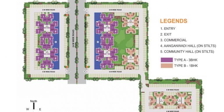 Auric-City-Homes-Site-plan